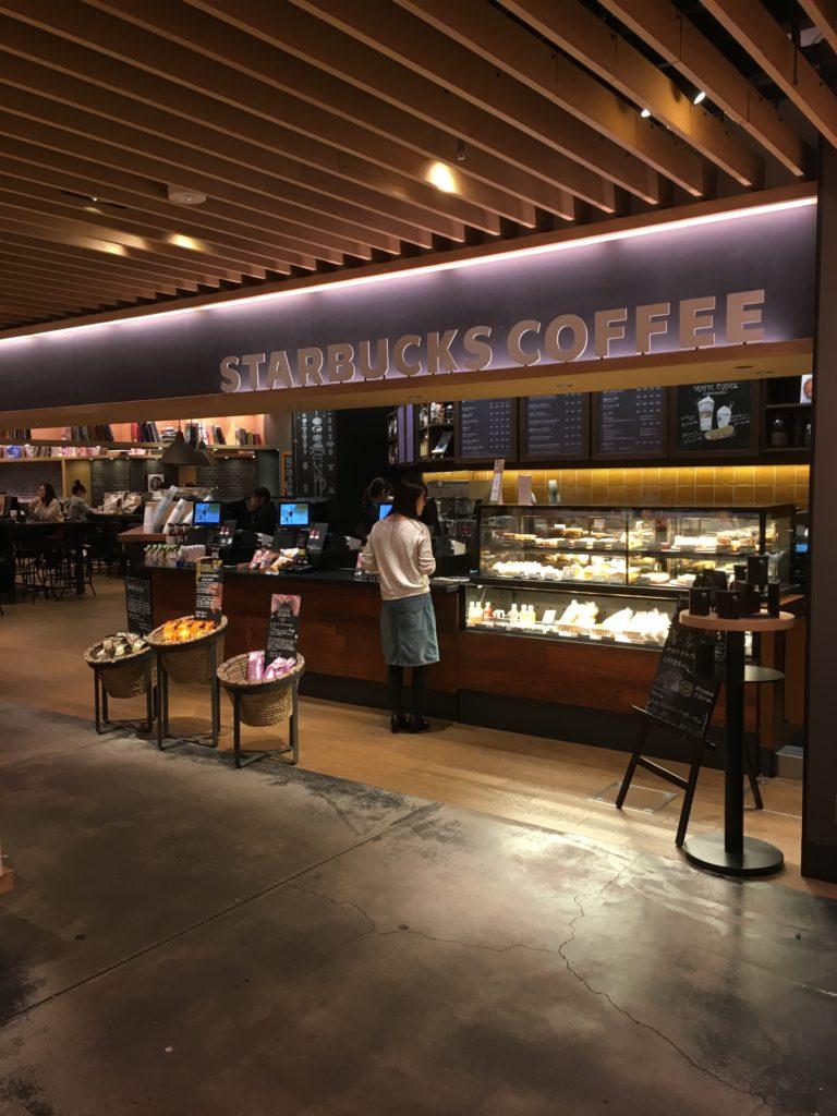 スターバックスコーヒーの外観