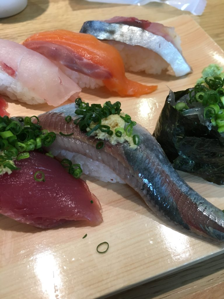 お寿司のアップ写真