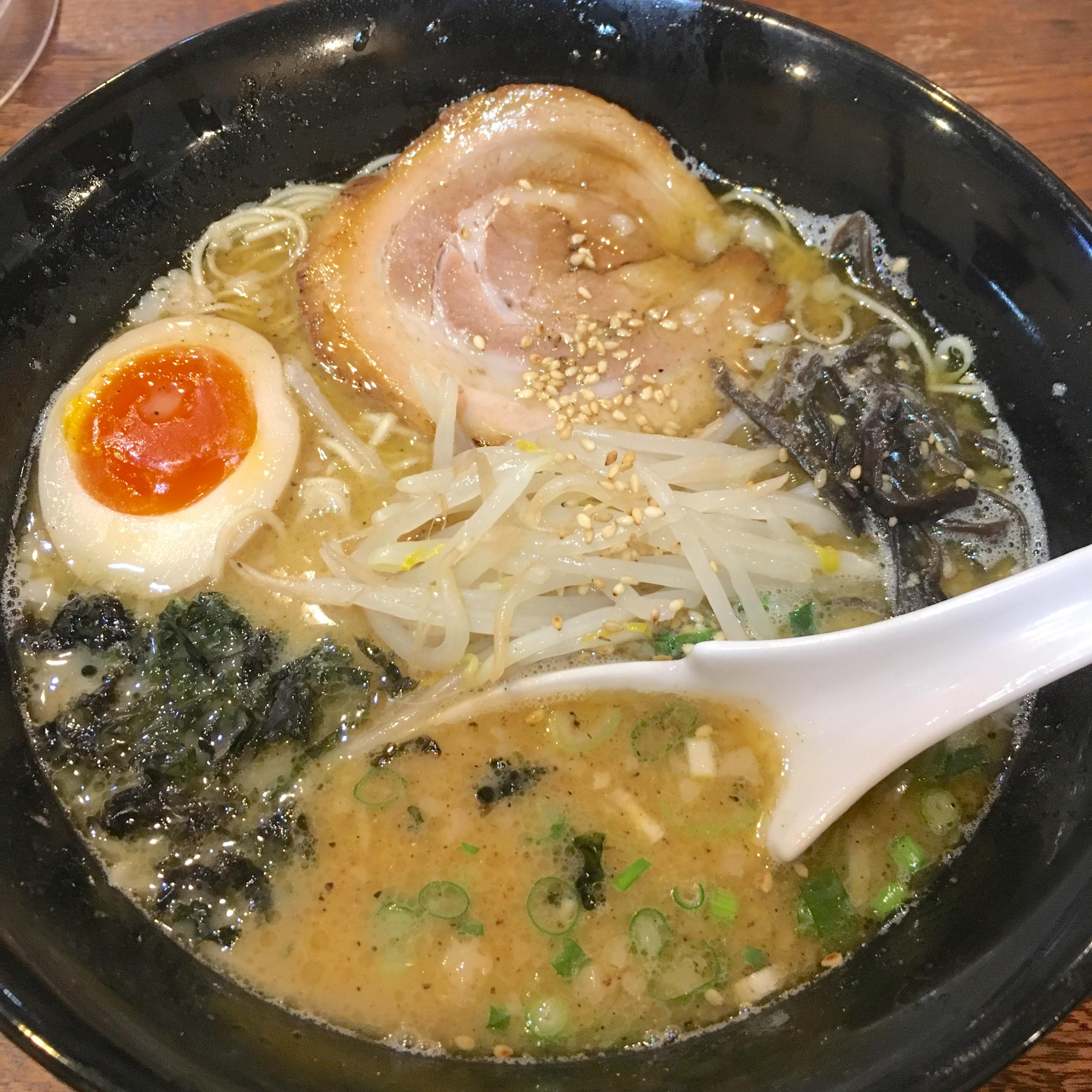 北上尾・鋼(HAGANE)|豚骨ラーメン&つけ麺がうまくておすすめ!
