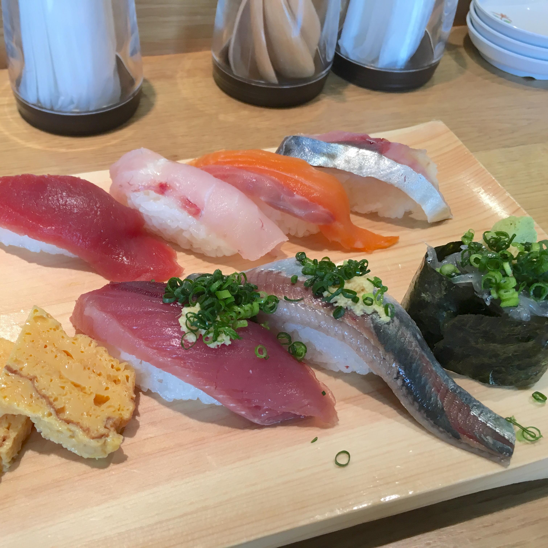 【大宮市場のいさば寿司】回らないのに安くて美味しいお寿司屋さん。