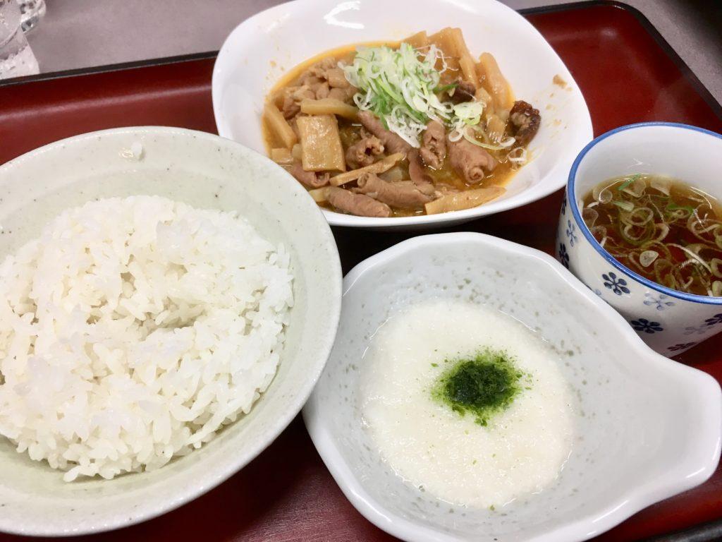 山田うどんのパンチ定食