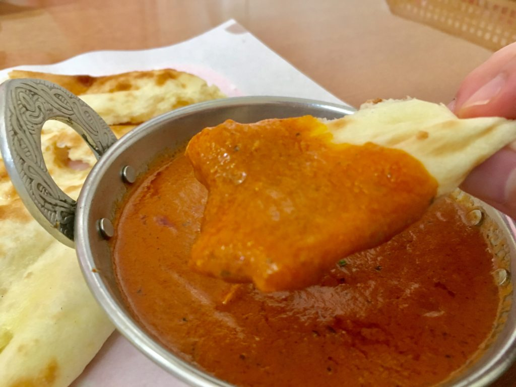 ラムじいさんのインドカレー加須店のチキンカレー