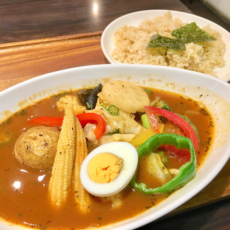 カレー食堂 心|さいたま新都心けやきひろばのスープカレーがうまい!