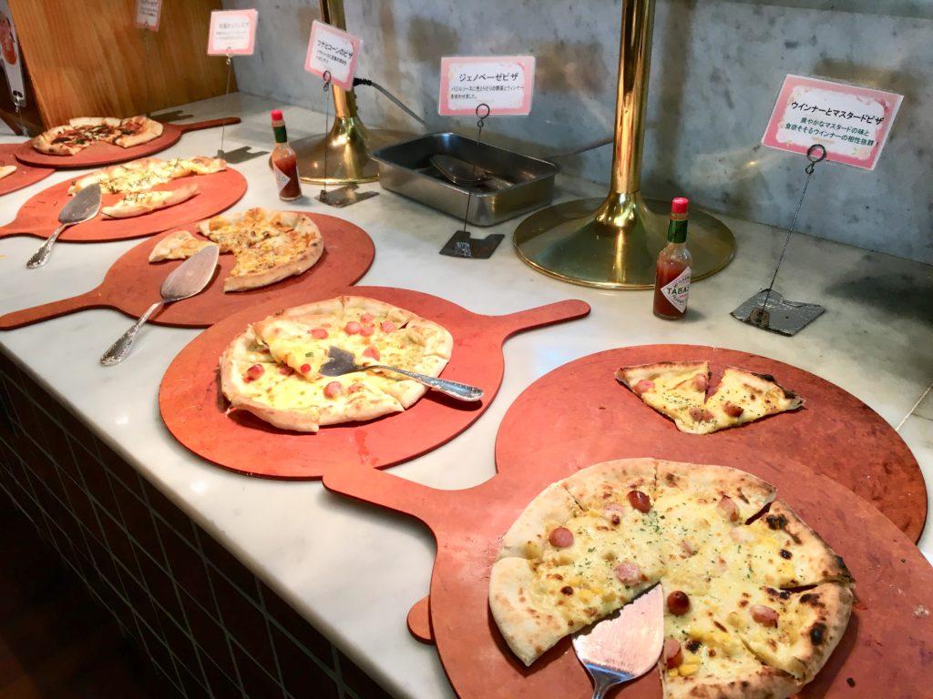 ピザ数種類