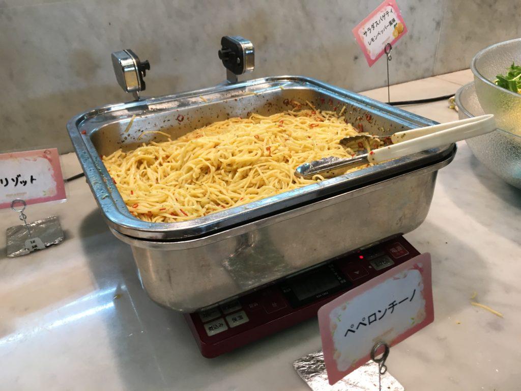 スパゲティ(ペペロンチーノ)