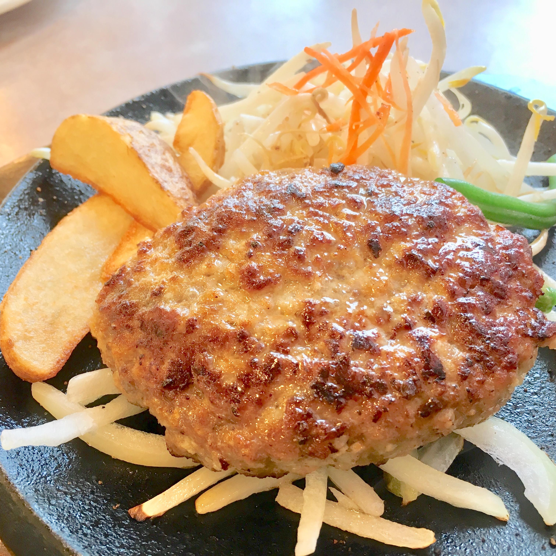 肉のはせ川上尾店で合挽きハンバーグを食べたレビュー|美味しいご飯がおかわり自由!