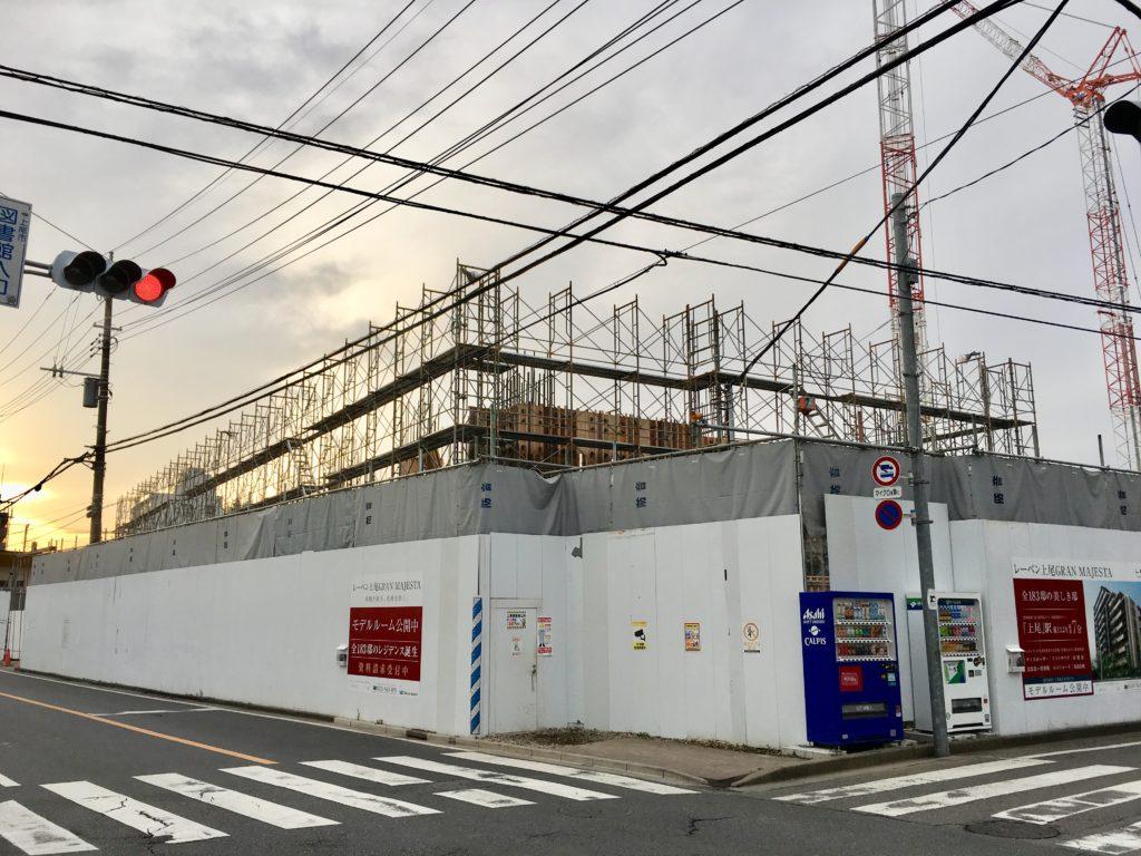 グランマジェスタの建設状態