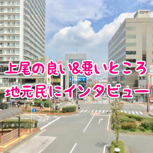 上尾市は住み心地の良い街?|良い&悪いところを地元民にインタビュー!