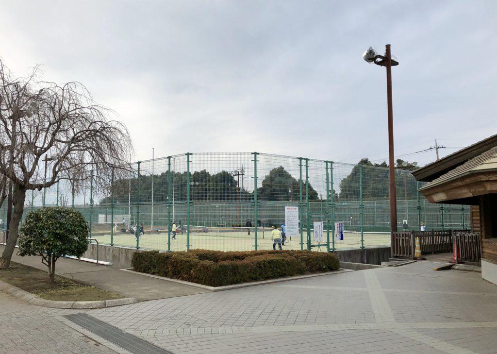 テニスコート全体図