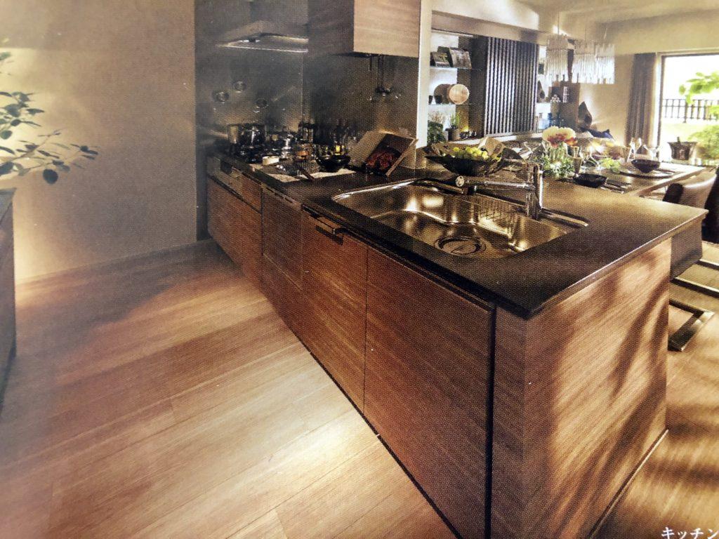 グランマジェスタのキッチンイメージ図