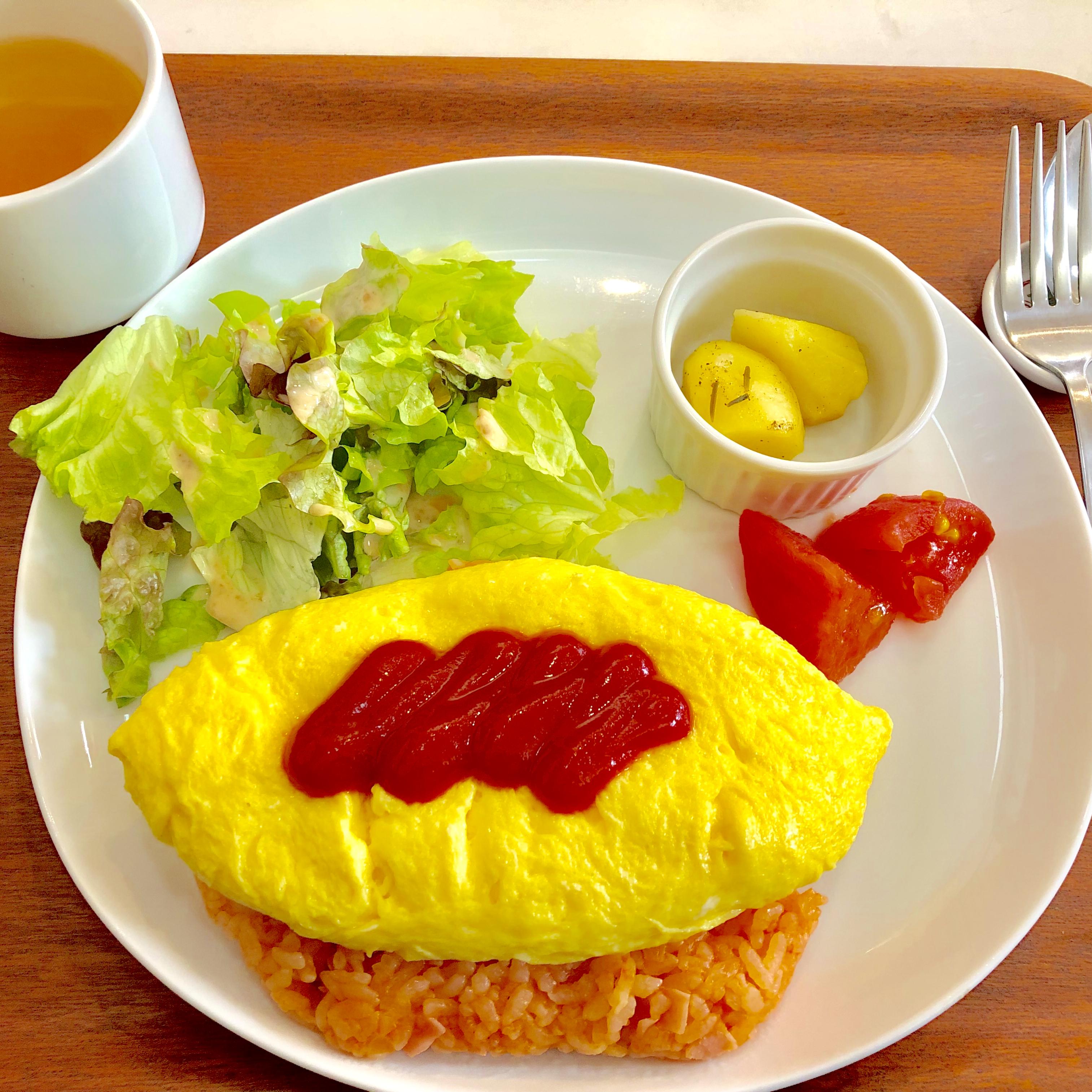 上尾・まいこカフェ|オムライスの美味しいアットホームなカフェ