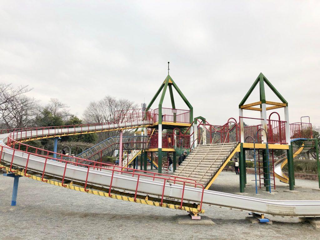 上尾丸山公園の児童遊園地