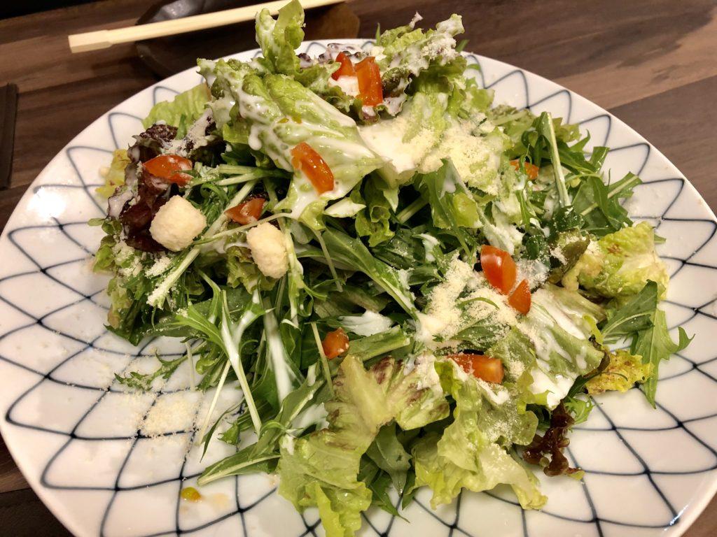 コース料理①シーザーサラダ