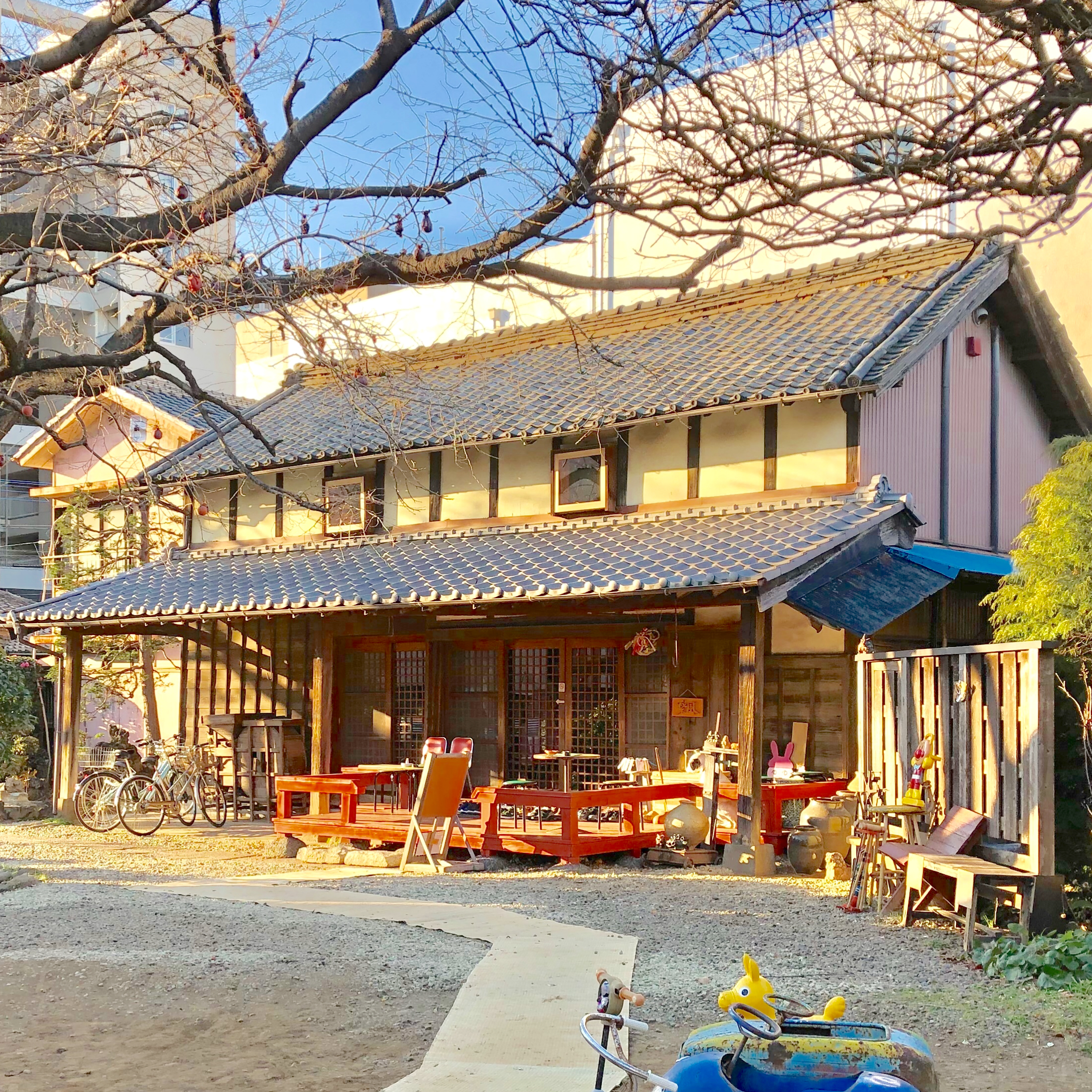 浦和・楽風(らふ) 古民家の日本茶カフェは時間を忘れる癒し空間