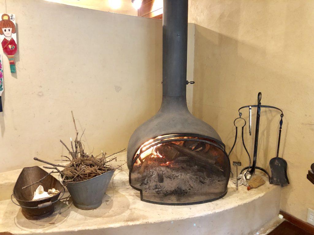 寧の暖かい暖炉