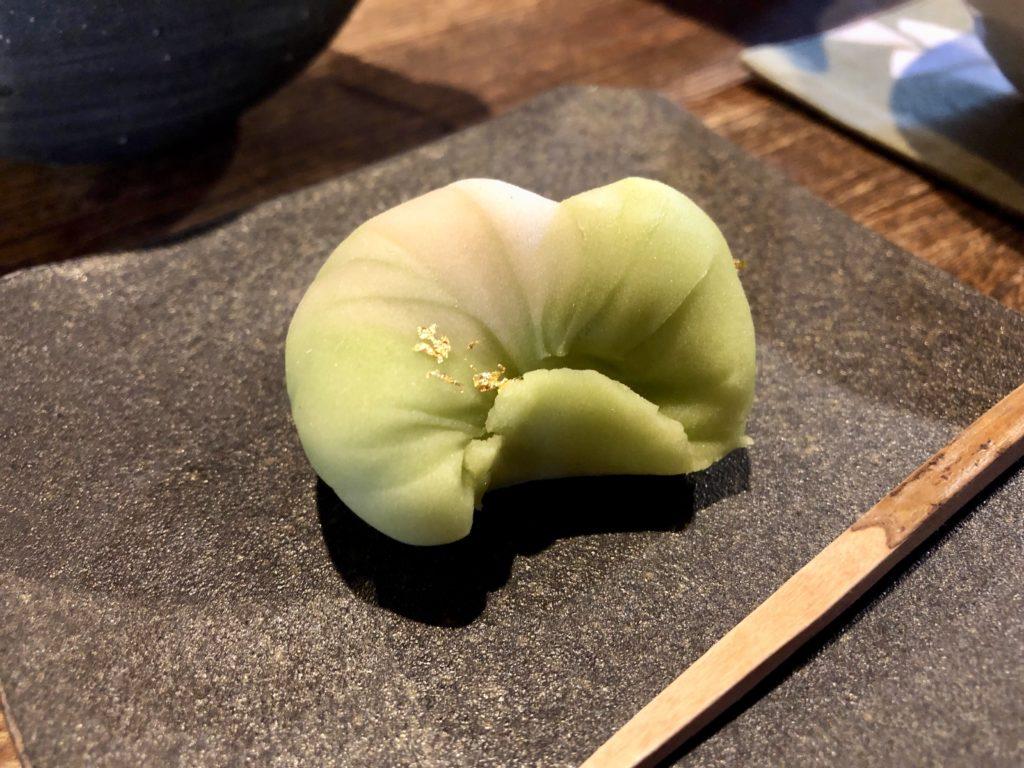 和菓子のアップ写真