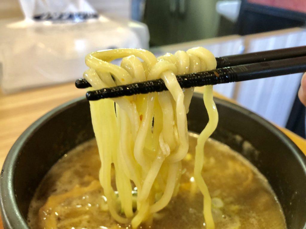 麺のリフト