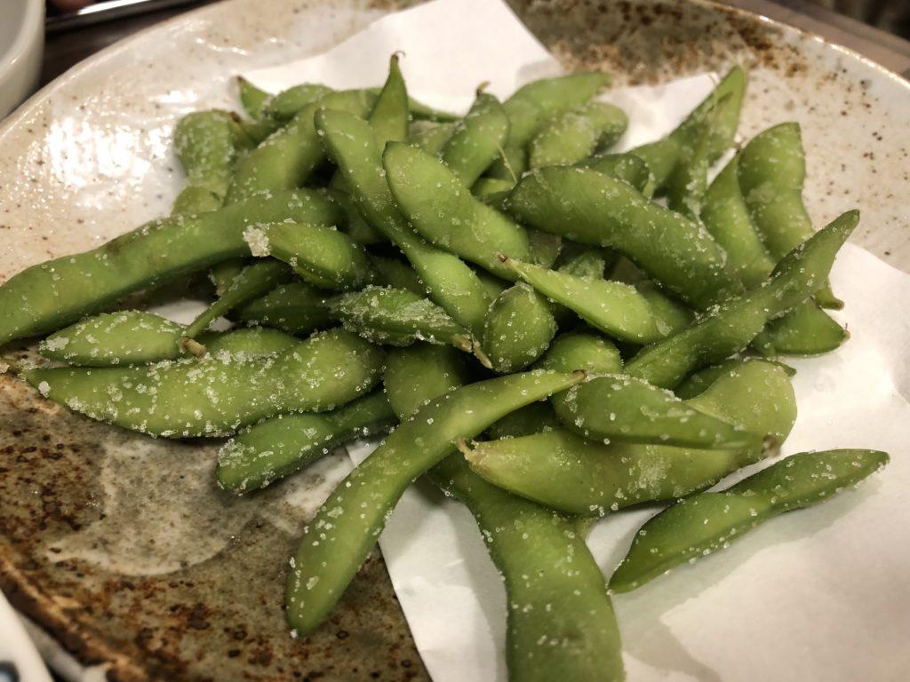 コース料理②枝豆