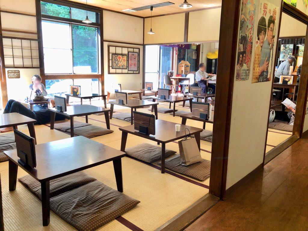 玉川温泉の食堂