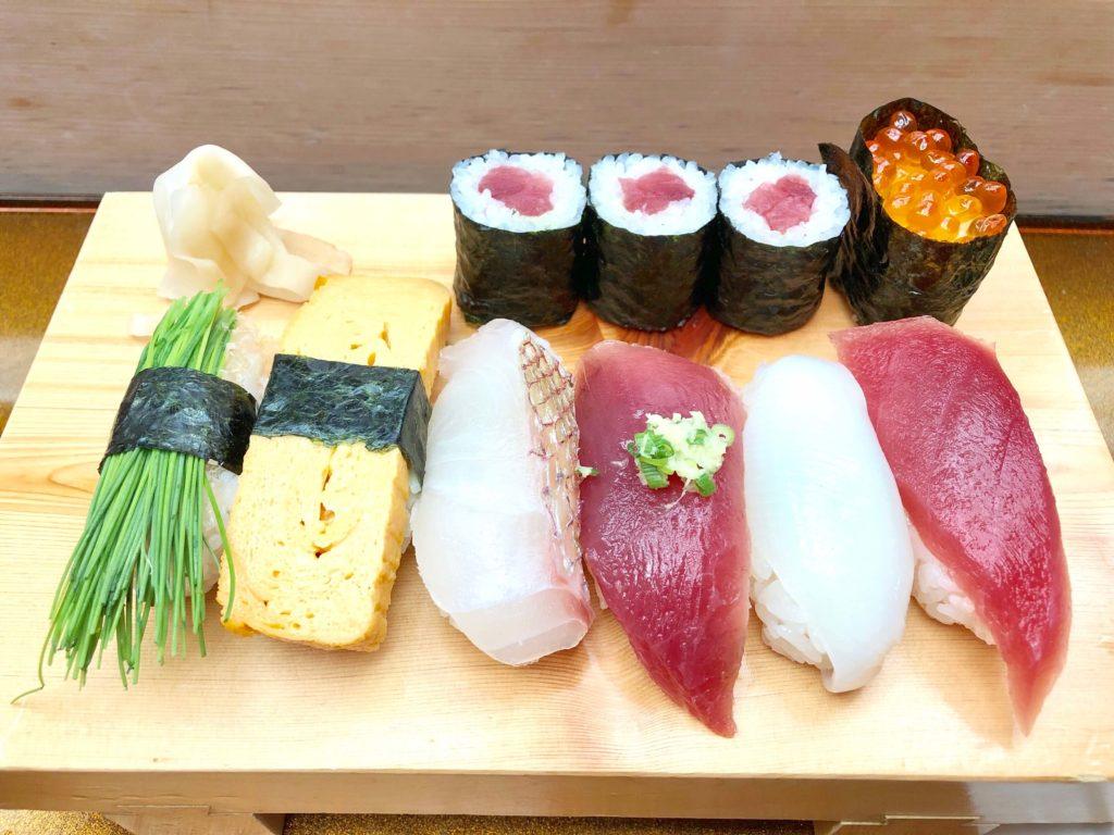 寿司長の握り寿司ランチ
