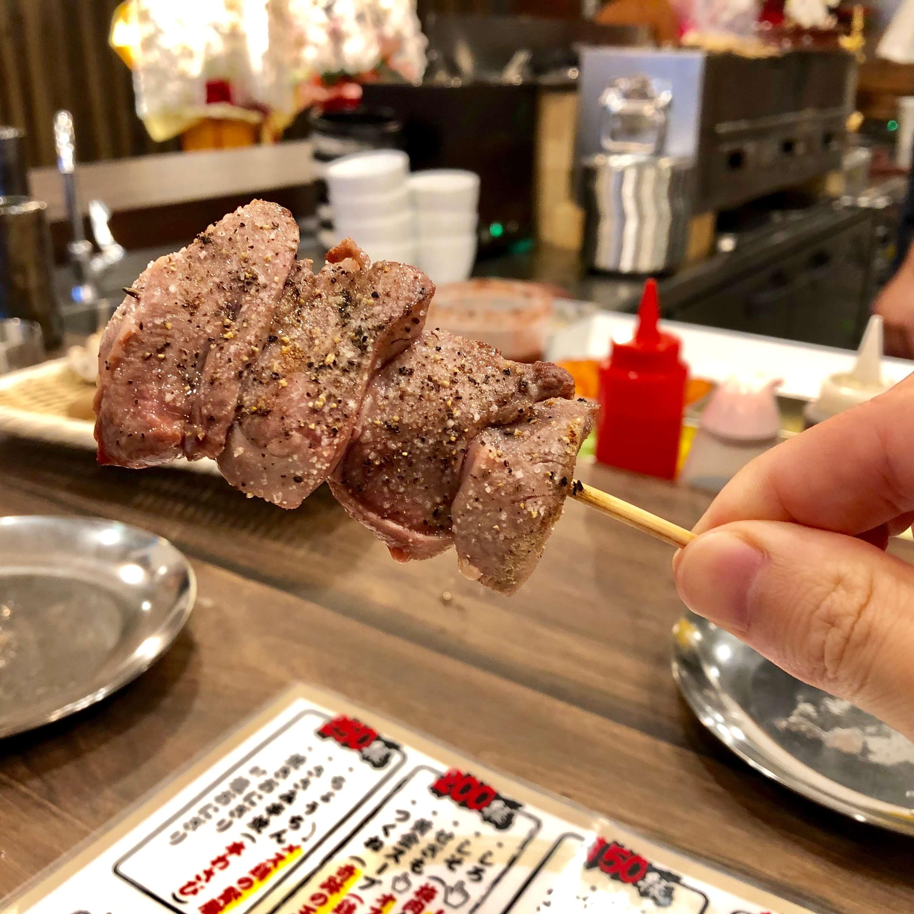 上尾駅西口の焼き鳥専門店『鳥八』をレポ!メニューは100円からで希少部位も多い!