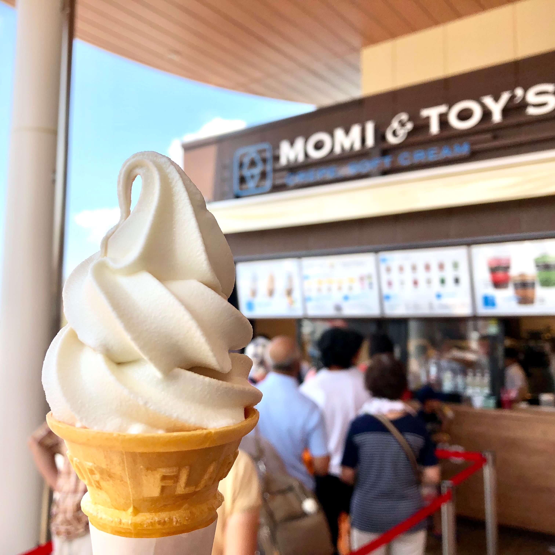 モミアンドドイズ Pasar蓮田店のわたぼくソフトクリームが絶品!埼玉県民熱愛の牛乳がアイスになった!