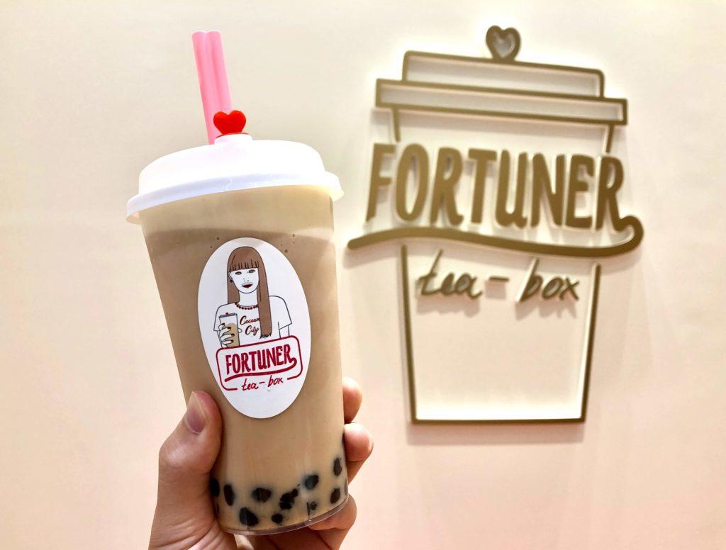 FORTUNER tea box(フォーチュナーティーボックス)さいたま新都心店のミルクティー