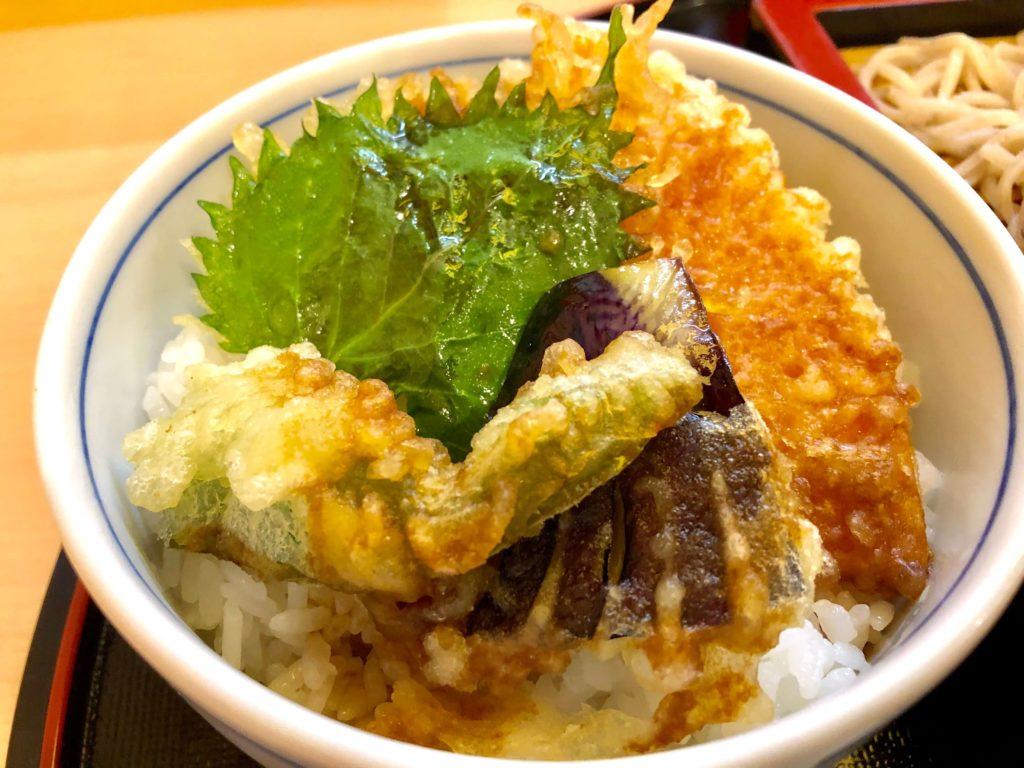 野菜小天丼
