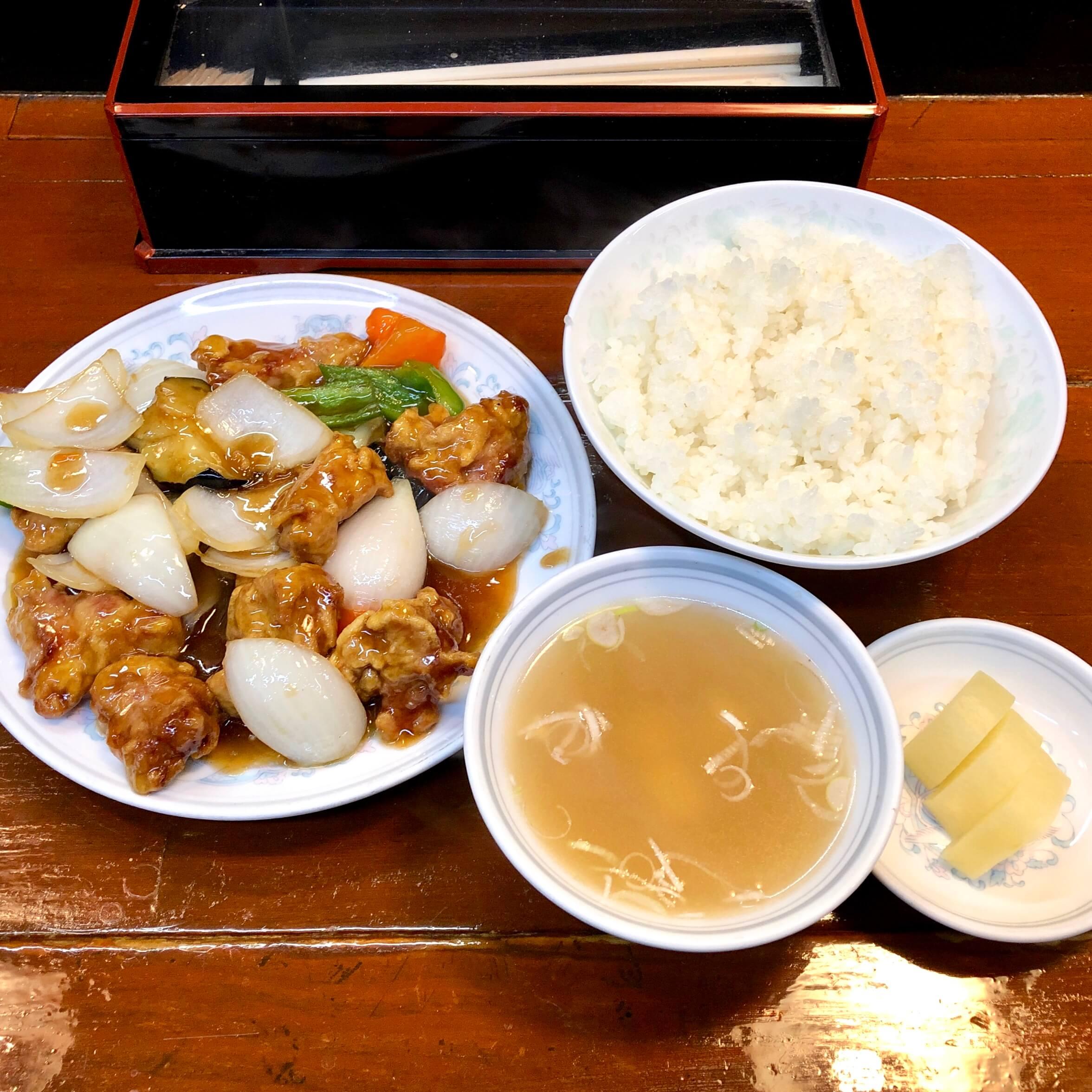 鳳春(ほうしゅん)上尾の本格中華料理屋さんで週替わりランチを味わう