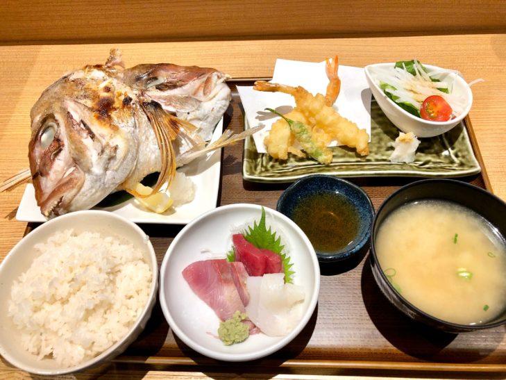 築地魚力 浦和店の市場定食
