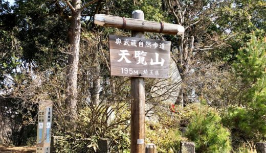 飯能のシンボル『天覧山』で軽登山!駐車場・トイレ・所要時間などを紹介