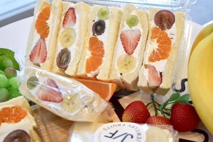 ジュエリーフルーツのフルーツサンド