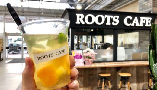 ROOTS CAFE(ルーツカフェ)久喜店|観葉植物を楽しめる癒しカフェ!フルーツティーやマフィンも美味しい♪