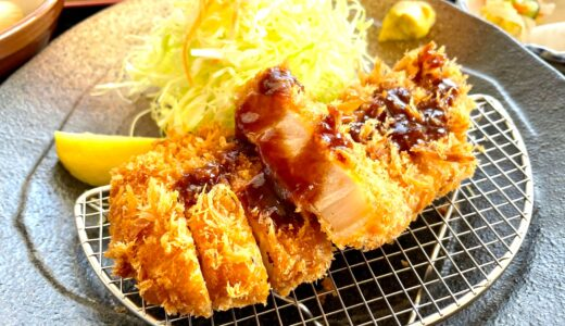 東松山 とんかつぼたんでランチ!平田三元豚ロースカツ&カキフライが美味しい♪