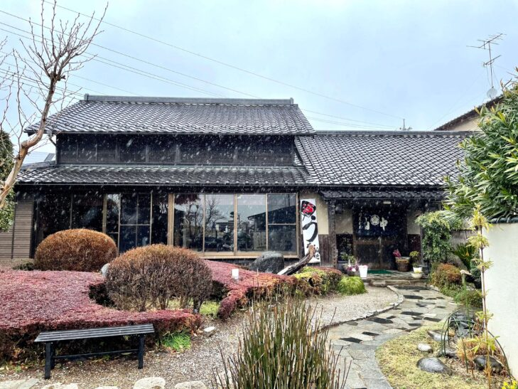 川魚料理 山中の外観