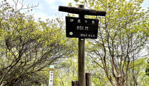 飯能 伊豆ヶ岳|駐車場・トイレ・所要時間・コースまとめ【鎖場に注意】
