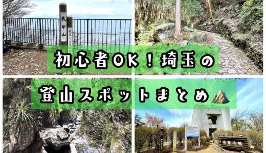 埼玉の日帰り登山9選!初心者・子連れでも登りやすい簡単コースまとめ